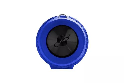caixa de som portátil frahm sound box one azul full