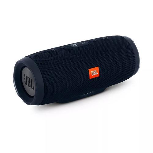 caixa de som portátil jbl charge 3 com bluetooth preto