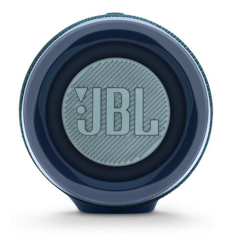 caixa de som portátil jbl original charge4 azul