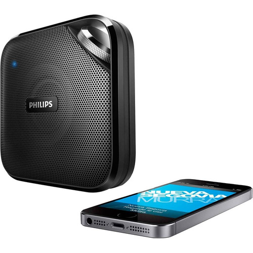 caixa de som portátil philips bt2500b/00 bluetooth