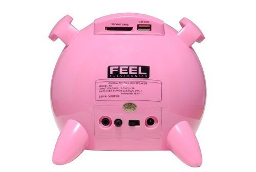 caixa de som portátil potente crianças usb micro original