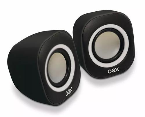 caixa de som portátil speaker 8w usb p2 sk100 oex envio já!
