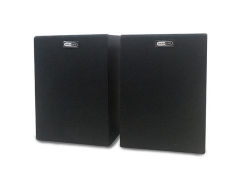 caixa de som potente 80w portatil pc celular note tv 506b