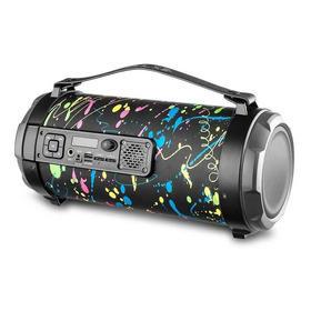 Caixa De Som Pulse Bazooka Paint Blast Ii 120w - Sp362