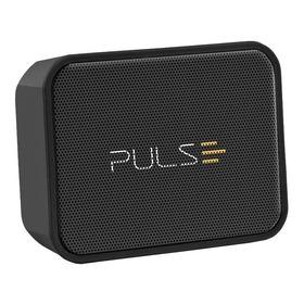 Caixa De Som Pulsesound Splash Portátil Com Bluetooth  Preta 110v/220v