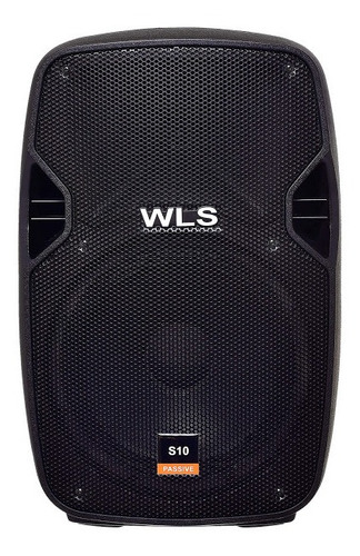 caixa de som s10 wls áudio passiva 10 polegadas 150w