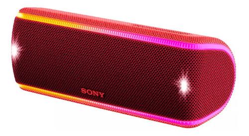 caixa de som sem fios srs-xb31, com extra bass, iluminação m