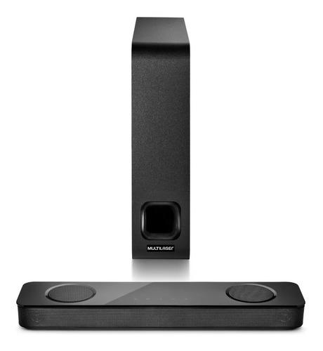 caixa de som soundbar multilaser hdmi mini smart box 120w potencia subwoofer bivolt sp334 oferta garantia nota fiscal