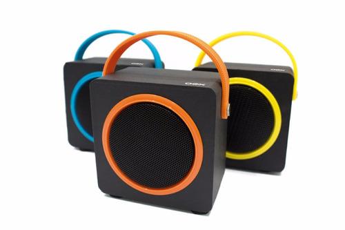 caixa de som speaker design moderno c/ conexão bluetooth