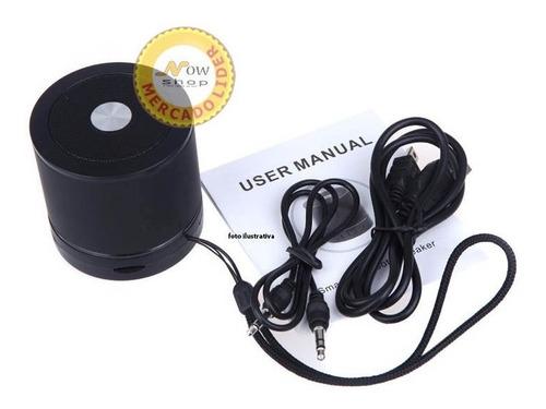 caixa de som speaker p2 bluetooth ipad iphone android ws887