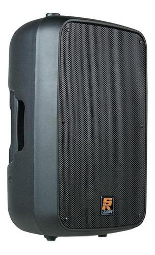 caixa de som staner sr-315a portátil sem fio preto 100v/240v