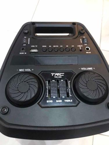 caixa de som trc335 200w bluetooth