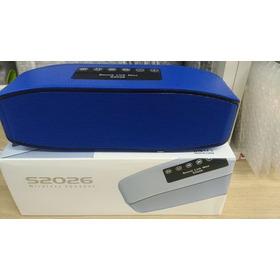 Caixa De Som T&z Bluetooth T&z S-2026 6 W