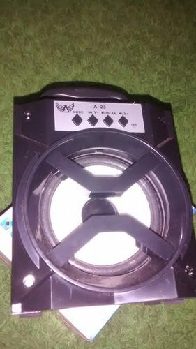 caixa de som usb/aux/sd