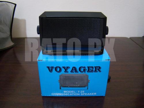 caixa de som voyager 7-25 universal px hf vhf