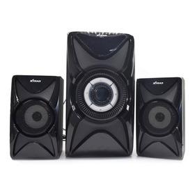 Caixa De Som Xtrad Xdg-11 Com Bluetooth Black Piano 110v/227v