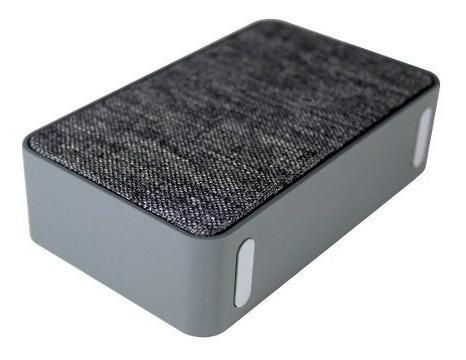caixa de som xtrax 801139 x500 cinza