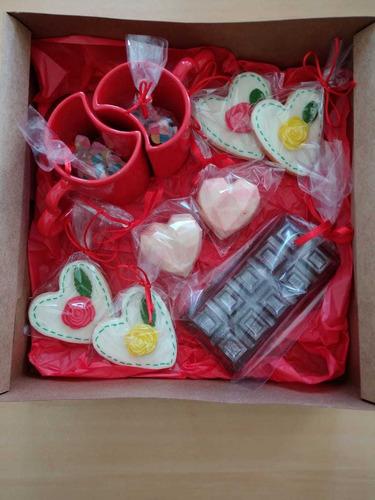 caixa dia dos namorados - coração bomba!!!