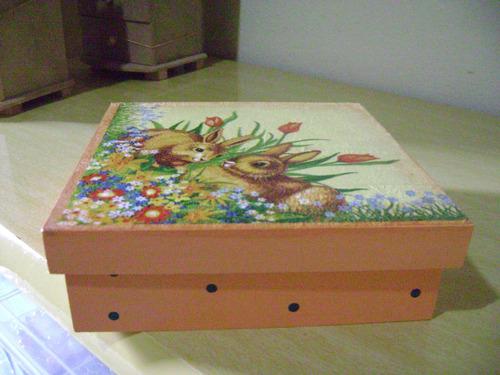 caixa do coelhinho da pascoa