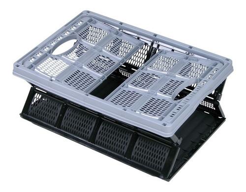 caixa dobravel organizador desmontavel de carga e compras