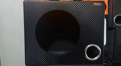 caixa dutada alto falantes de 12 polegadas 40 litros mdf 15
