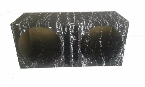 caixa duto regua 2 alto falante 15 polegadas mdf. 15mm