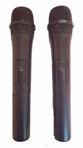 caixa ecopower 600w bluetooth bateria 2 microfones sem fio