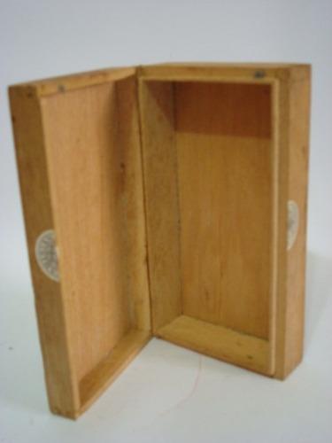 caixa em madeira do sabonete parisiana - vazia