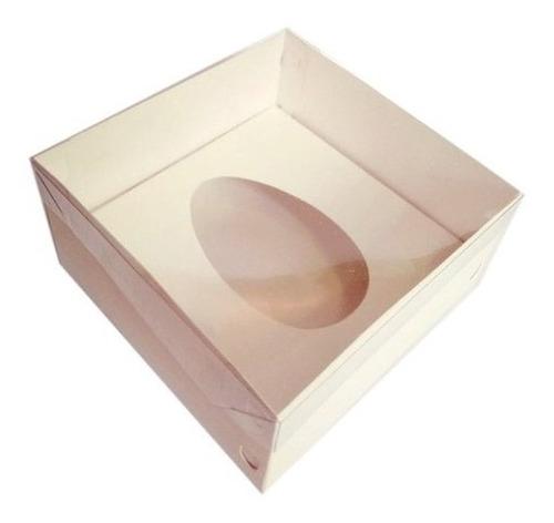 caixa | embalagem ovo de colher 250 ou 350gr tpa pvc c-50