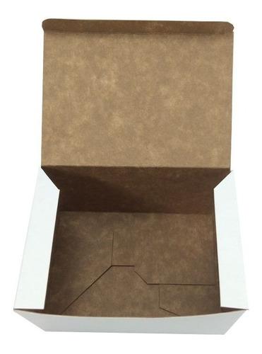 caixa embalagem para hambúrguer artesanal gourmet 100un.
