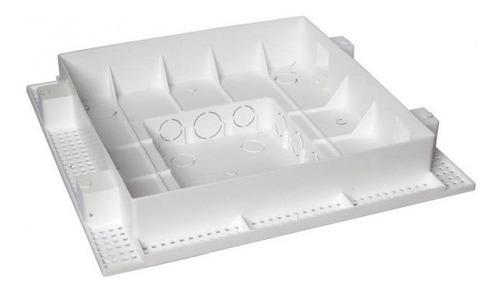 caixa embutir painel led p/ laje plafon 24w 30x30 01 unid