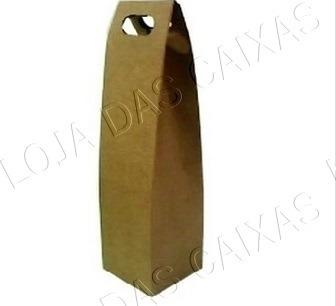 caixa envelope papelão ondulado  para garrafa de vinho  c 9