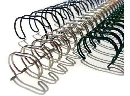 caixa espiral garra duplo anel wire-o 2x1 carta 3/4 140 fls