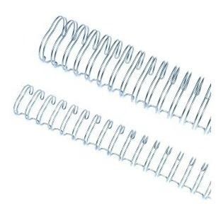 caixa espiral garra duplo anel wire-o 2x1 ofício 5/8 120fls