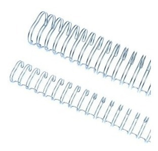 caixa espiral garra duplo anel wire-o 3x1 carta 5/16 50 fls