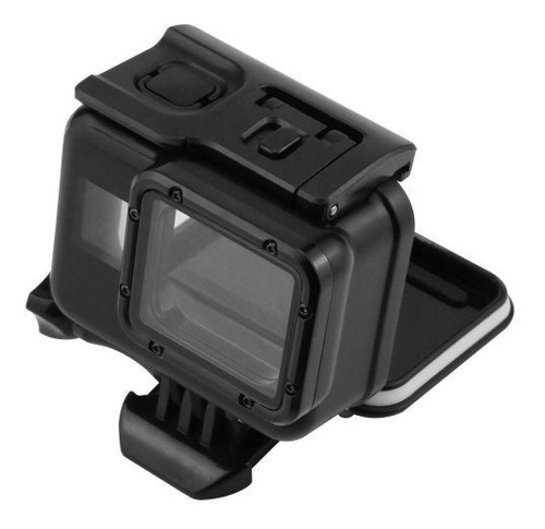 caixa estanque blackout gopro hero 5 6 7 black go pro