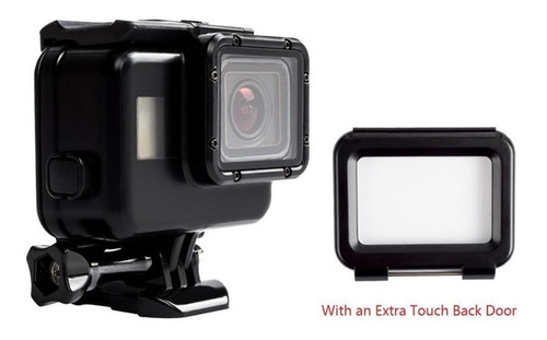 caixa estanque blackout gopro hero7 , 6 ou 5- gopro