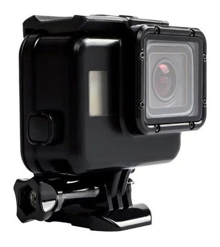 caixa estanque case blackout gopro hero 5, 6 + touch 60m
