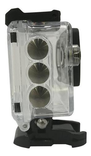 caixa estanque case original sj5000 sjcam prova dágua