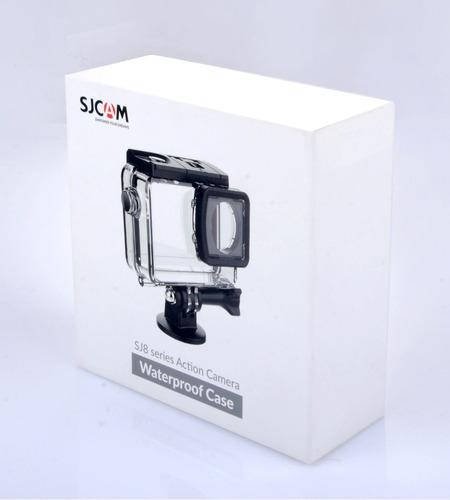 caixa estanque case original sj8 sjcam prova dágua