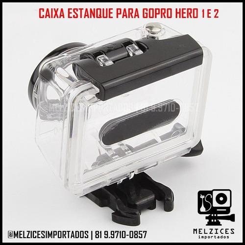 caixa estanque para gopro hero 1 e 2
