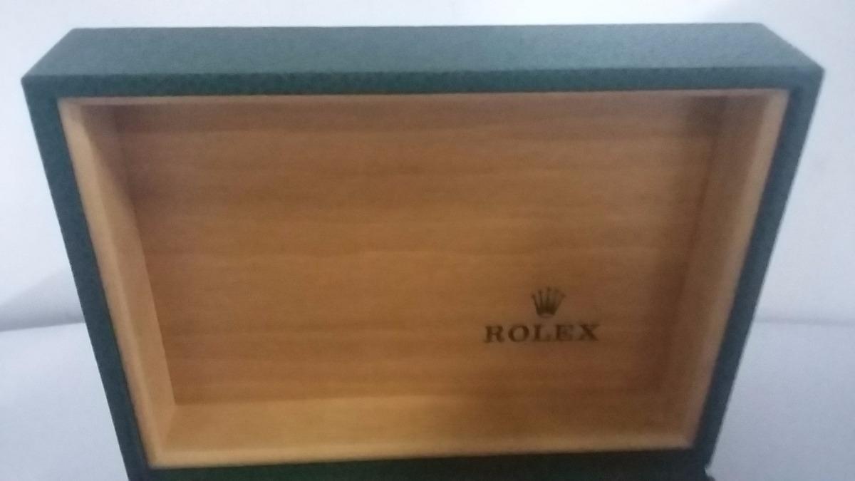bb6197f436b Caixa Estojo De Relógio Rolex