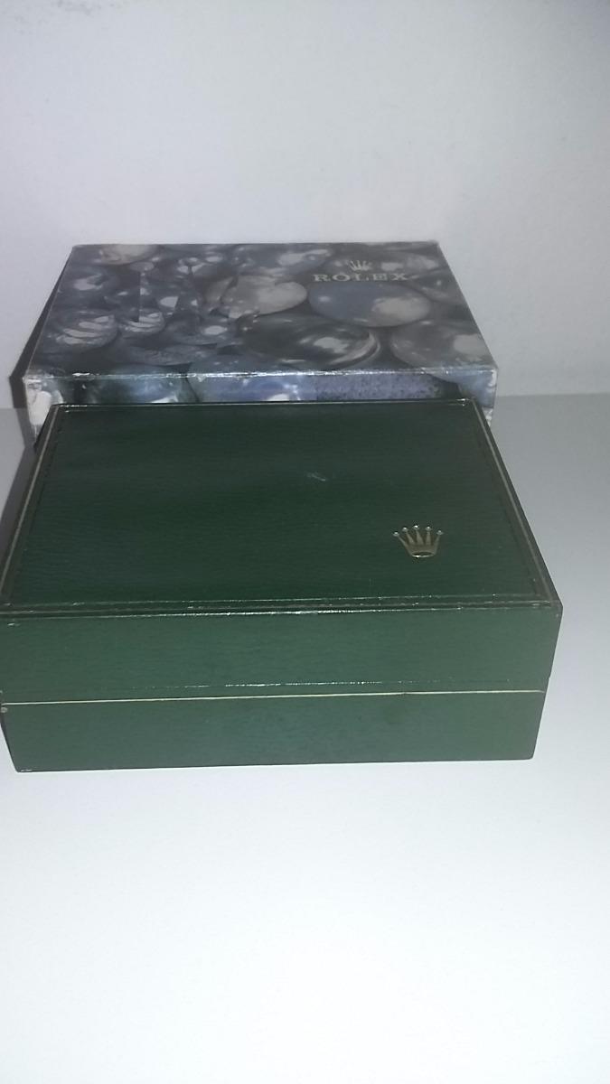e97b8a5b50e Caixa Estojo E Sobre Caixa Relógio Rolex Original-11.00.2 - R  599 ...