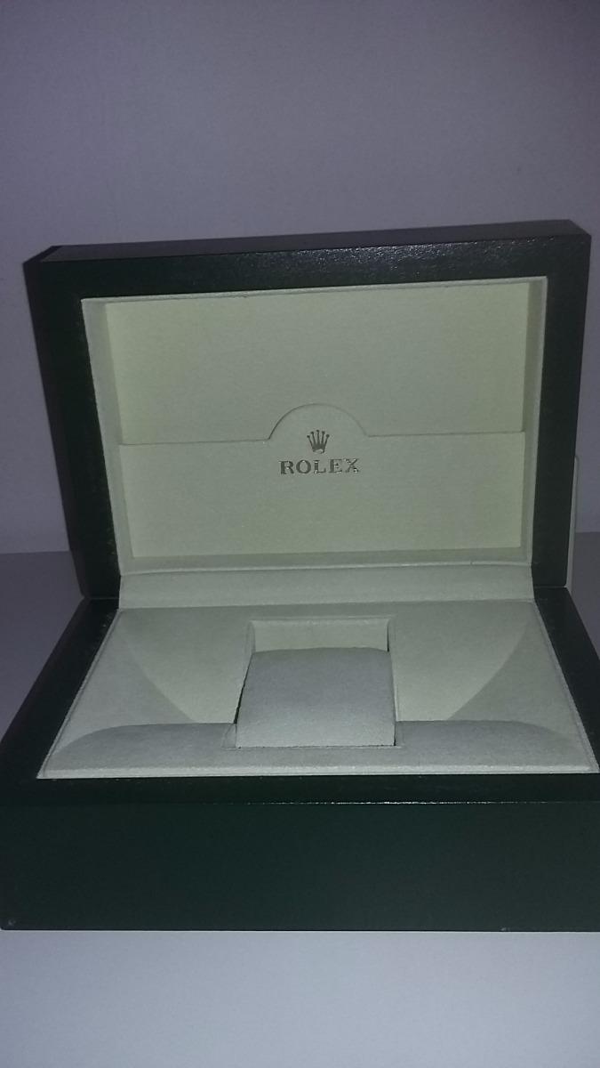 554485d29dc Caixa Estojo E Sobre Caixa Relógio Rolex Original-39139.64 - R  545 ...