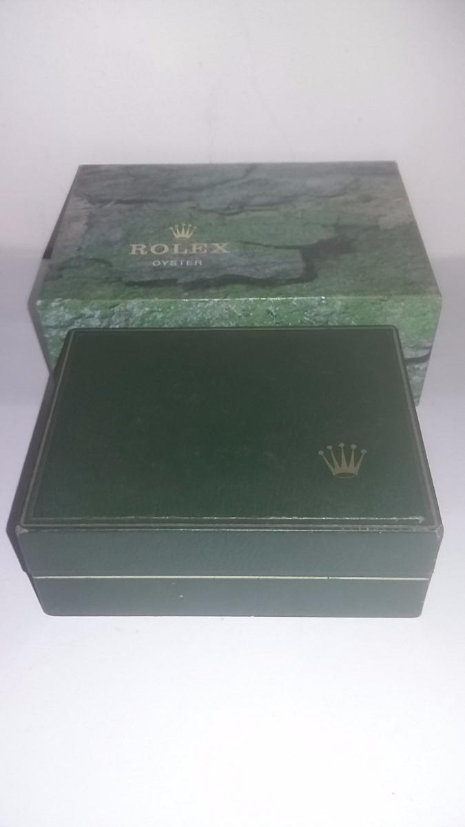 d4244672f31 Caixa Estojo Relógio Rolex Original - 11.00.01 - R  599