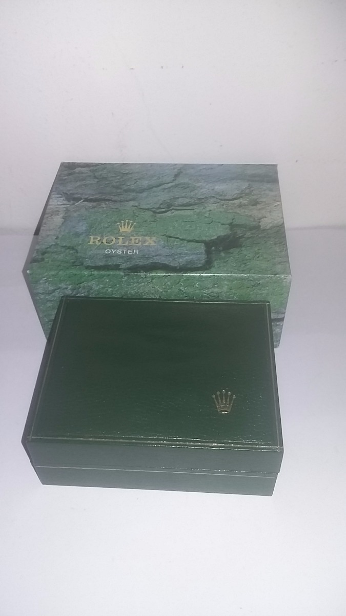 f078c8f6093 caixa estojo relógio rolex original - 11.00.2 geneve. Carregando zoom.