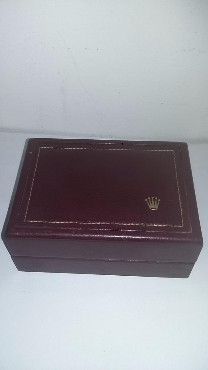 7cf93a4122e caixa estojo relógio rolex original - 53.00.01--. Carregando zoom.