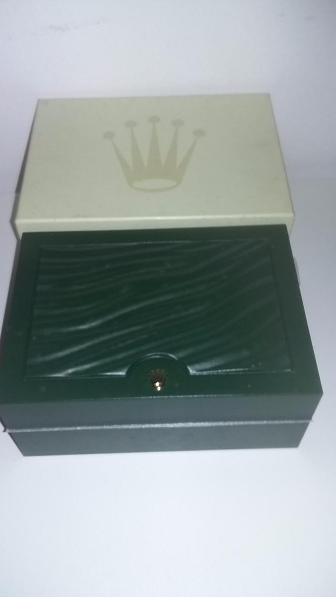 958286d67d7 caixa estojo - sobre caixa relógio rolex original-31.00.64. Carregando zoom.