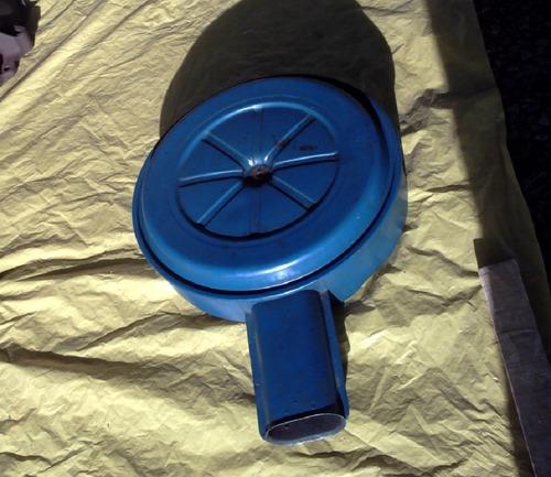 caixa filtro ar motor v8 302 maverick galaxie landau ltd 500 original azul do carburador ford v-8 antigo de época