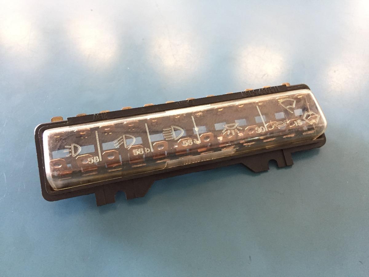 b80441f052607 Caixa Fusível 12 Polos Vw Original Nova C tampa Fusca 1975 - R  89 ...
